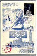 34540 - OLYMPISCHE  SPIELE  1948 - Inverno1948: St-Moritz
