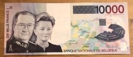10.000 Francs Albert UNC!! Verzamelstuk!! 9349 - [ 2] 1831-... : Regno Del Belgio
