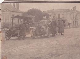 2 Cartes Photo Et  1 Carte Automobiles Anciennes - Voitures De Tourisme