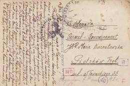 GG Spanien: AK Barcelona Nach Piotzkow, Zensur, Seltene Destination - Occupation 1938-45