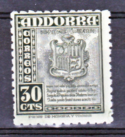 Andorre Espagnol  45 Armoiries Neuf * * TB MnH Sin Charnela Cote 15 - Spanisch Andorra