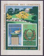Sharjah Khor Fakkan 133/34 - President John Kennedy 1966 M/S - MNH - Kennedy (John F.)