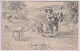 Viennoise M.M. VIENNE Munk Série 836 Joyeuses Pâques Enfants - Vienne