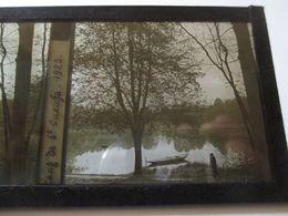 Etang De St Cucufa ( Rueil-Malmaison / 92 ) - Plaque De Verre Stéréo 6 X 13 - 1923 - TBE - Glass Slides