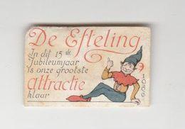 Lucifermerk: Efteling Kaatsheuvel (NL) 1966 - Matchbox Labels