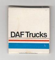 Luciferdoosje: DAF Trucks Eindhoven (NL) - Matchboxes