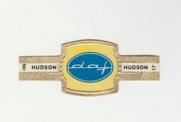 Sigarenbandje: Hudson 17/24 Serie Autoemblemen-marques De Voitures DAF Eindhoven (NL) - Cigar Bands