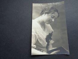 Artiste ( 990 )   Artiest  :  Cecile ??? Adressé à Georges Wague - Artistes
