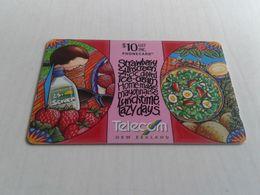 New Zealand  - Nice Phonecard 471CO Barred - Nouvelle-Zélande