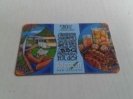 New Zealand  - Nice Phonecard 471DO Not Barred - Nueva Zelanda