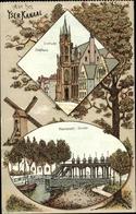 Artiste Cp Nieuwpoort Westflandern, Sluizen, Dixmude Stadhuis - Otros