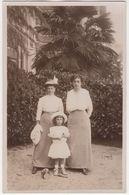 Laurana: 2x WOMAN & GIRL -  Photo-Manufaktur: E. Jelussich,  Abbazia-Fiume-Lovrana-Cirkvenica - 1914 - (Lovran, Croatia) - Photographs