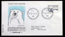 Greenland 1984 Art Karale Andreassen    MiNr.147  FDC ( Lot Ks) - FDC