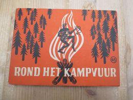 Rond Het Kampvuur Scouts 1947 Mooie Staat - Histoire