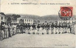 SAINT ETIENNE REMIREMONT Fanfare Du 5 ème Bataillon De Chasseurs à Pied - Saint Etienne De Remiremont