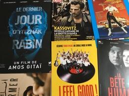20 Plaquettes De Présentation Films : Les Jours Comptés/Polluting Paradise/Pelo Malo/Fixeur/L'étrange Petit Chat/Je M'ap - Merchandising