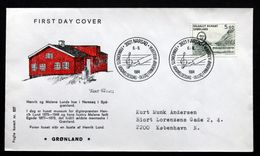 Greenland 1984 Kunst (V)  MiNr.153  FDC ( Lot Ks ) FOGHS COVER - FDC