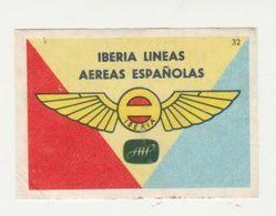 Lucifermerk Albert Heyn: 32) Iberia Lineas Aereas Españolas - Matchbox Labels