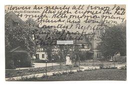 Markt Einersheim, Bavaria - House, Garden - 1911 Used Germany Postcard - Other