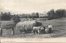 CORCIEUX La Fenaison - Corcieux