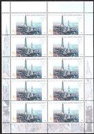2004 Germania, Landshut, Serie Completa Nuova (**)  Minifoglio Da 10 Francobolli, Al Facciale - [7] Federal Republic