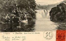 Mauritius * 1909 * Grand River S. E. Cascade * Ile Maurice - Mauritius