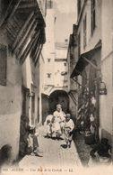 CPA ALGERIE Alger. Une Rue De La Casbah 1940 - Argelia