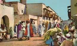 CPA / AFRIQUE DU NORD Quartier Indigène - Algerien