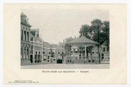 D388 - Kampen Nieuwe Markt Met Muziektent - Uitg G Jurling - Oud Voor 1906 - Kampen