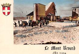 Le REVARD-sur-AIX - Le Mont-Revard - Gare Supérieure Du Téléphérique Et Du Téléski - Arrivée Des Skieurs - Automobiles - Autres Communes