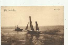 Coxijde-Bains - Au Large - Sleepboot En Vissersboot   - Verzonden . - Koksijde