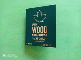 DSQUARED2 - GREEN WOOD - Echantillon - Parfums - Stalen