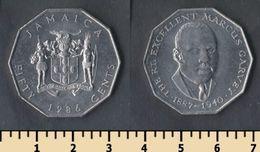 Jamaica 50 Cents 1986 - Jamaica