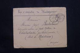MADAGASCAR - Enveloppe En FM Du Corps D'Occupation De Madagascar Pour Tsitakabasia En 1901  - L 64607 - Madagascar (1889-1960)