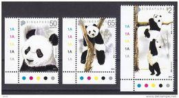 Singapore 2012 Arrival Of Giant Pandas From China  Panda MNH - Singapore (1959-...)