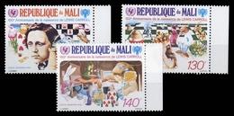 1982, Mali, 899-901, ** - Mali (1959-...)