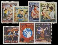 1979, Laos, 478-81 U.a., (*) - Laos