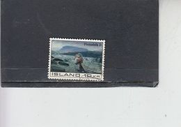 ISLANDA  1971 - Unificato  403° - Rifugiato - 1944-... Repubblica