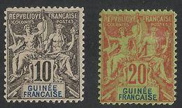 FRENCH GUINEA / GUINEE FRANCAISE --ALLEGORIE --1892 MLH--FAUX DE FOURNIER ??? - Nuovi