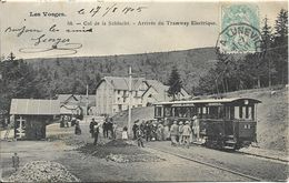 COL DE LA SCHLUCHT.Arrivée Du Tramway électrique - Frankreich