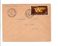 VIET NAM LETTRE INTERIEURE 1953 - Viêt-Nam