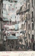 Cartolina - Postcard /  Viaggiata - Sent /  Genova, I Truogoli Di S. Brigida. - Genova (Genua)