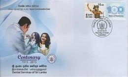 Sri Lanka (2018) - Cover -  /  Dentist - Dentiste - Sante - Health - Medicine - Dentistry - Medicine