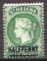 St. Helena MLH Queen Victoria Stamp - Isola Di Sant'Elena