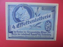 3eme REICH-LOTERIE DU 16 OKTOBER 1934 (B.17) - [ 4] 1933-1945: Derde Rijk