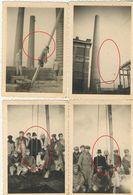 Lot Van 7 Oude Originele Foto's Elektriciteitscentrale Te Gent 1947 - Orte