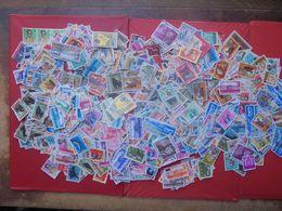 CONGO-ZAIRE TRES BEAU VRAC DE PLUS DE 1250 TIMBRES OBLITERES. - Lots & Kiloware (mixtures) - Min. 1000 Stamps