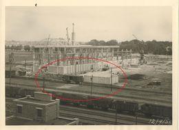 Lot Van 6 Oude Grote Originele Foto's Bouw Van De Nieuwe Elektriciteitscentrale Te Gent 1950 - Orte