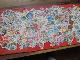 MONDE SPLENDIDE VRAC DE PLUS DE 4000 TIMBRES OBLITERES. - Lots & Kiloware (mixtures) - Min. 1000 Stamps