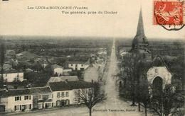 Les Lucs Sur Boulogne * Vue Générale Prise Du Clocher * La Place - Les Lucs Sur Boulogne